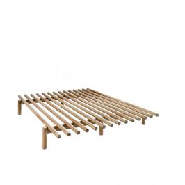 Rám postele z borovicového dreva Karup Pace, 140×200cm