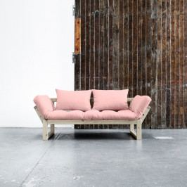 Variabilná pohovka Karup Edge Natural/Pink Peonie