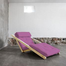 Variabilná leňoška Karup Figo Raw/Taffy Pink