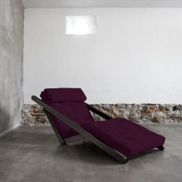 Variabilná leňoška Karup Figo Wenge/Purple Plum