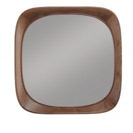 Nástenné zrkadlo s rámom z orechového dreva Wewood - Portugues Joinery Sixty's, dĺžka 70 cm