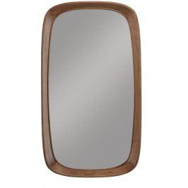 Nástenné zrkadlo s rámom z orechového dreva Wewood - Portugues Joinery Sixty's, dĺžka 115 cm