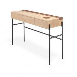 Konzolový stolík z orechového a dubového dreva Wewood - Portugues Joinery Concierge