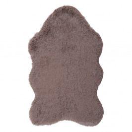 Hnedý kožušinkový koberec Floorist Soft Bear, 70 x 105 cm