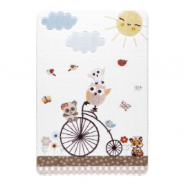 Detský biely koberec Confetti Sunny Day, 100×150 cm