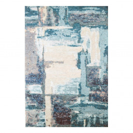 Modrý koberec Eco Rugs Xavy, 80×150 cm