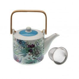 Čajová kanvička z porcelánu so sitkom VERSA Mykonos