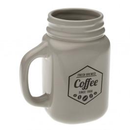 Keramický hrnček Versa Grey Coffee