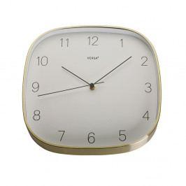Závesné hodiny v zlatej farbe VERSA Gold