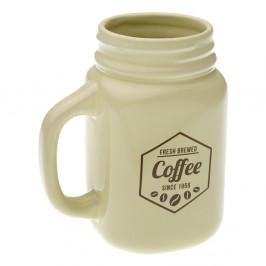 Keramický hrnček Versa Beige Coffee