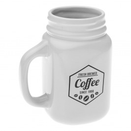 Keramický hrnček Versa White Coffee
