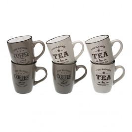 Sada 6 hrnčekov Versa Coffee & Tea