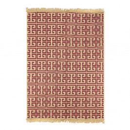 Červeno-béžový koberec Ya Rugs Tee, 120×180cm