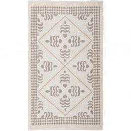 Krémový bavlnený koberec Floorist Flair, 100×200cm