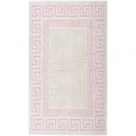 Krémový bavlnený koberec Floorist Maisha, 100×200cm
