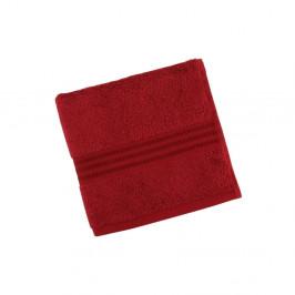 Červený uterák z čistej bavlny Sunny, 50 x 90 cm