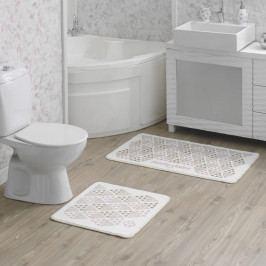 Sada 2 kúpeľňových predložiek Tangranny