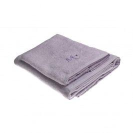 Sada 2 fialových uterákov Samantha