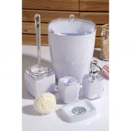 Fialová 5-dielna sada kúpeľňových doplnkov Karin