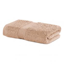 Béžový uterák DecoKing Marina, 50×100 cm