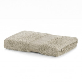 Béžový uterák DecoKing Bamby, 50×100 cm