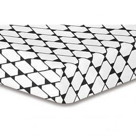 Elastická plachta so vzorom DecoKing Rhombuses, 120×200 cm
