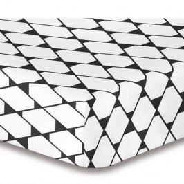 Elastická plachta z mikrovlákna DecoKing Rhombuses, 160×200 cm