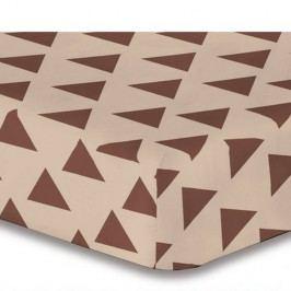 Plachta z mikrovlákna DecoKing Hypnosis Triangles Alma, 90 × 200 cm