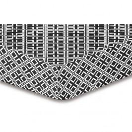 Plachta z mikrovlákna DecoKing Hypnosis Triangles Felipa, 180 × 200 cm