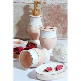 Set ružových kúpeľňových doplnkov Baroque