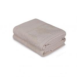 Sada dvoch béžových uterákov Victorian, 90 × 50 cm