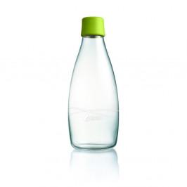 Zelená sklenená fľaša ReTap s doživotnou zárukou, 800ml