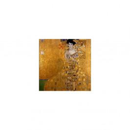 Reprodukcia obrazu Gustav Klimt Adele Bloch-Bauer I, 90×90 cm