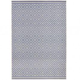 Modrý koberec Bougari vhodný aj do exteriéru Raute, 140×200 cm