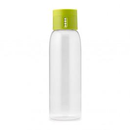 Zelená fľaša s počítadlom Joseph Joseph Dot, 600ml