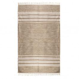 Obojstranný bavlnený koberec ZFK I Like Sand, 150×80 cm