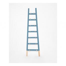 Modrý odkladací dekoratívny rebrík Surdic Azul
