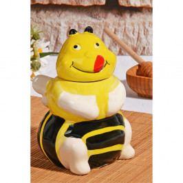 Dóza na med v tvare včely Honey