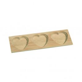 Bambusová servírovacia miska Kosova Tree Hearts, 17,8×6cm