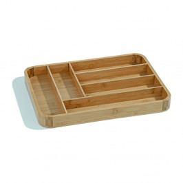 Bambusový úložný box na príbory Kosova Light, 40×30,2cm