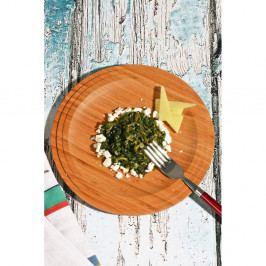 Bambusový tanier Kutahya Snack, Ø24 cm