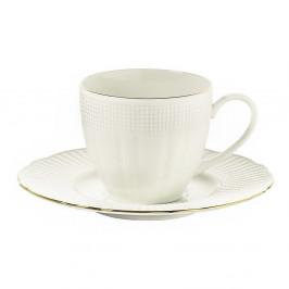Sada 6 porcelánových šálok na kávu s tanierikom Kutahya Café, 50 ml