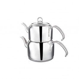 Dvojitá nerezová konev na čaj Teafull