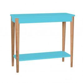 Tyrkysový konzolový stolík Ragaba Ashme, šírka 85 cm