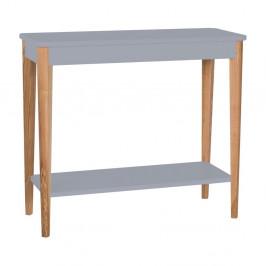 Sivý konzolový stolík Ragaba Ashme, šírka 85 cm