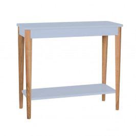 Svetlosivý konzolový stolík Ragaba Ashme, šírka 85 cm