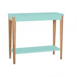 Svetlotyrkysový konzolový stolík Ragaba Ashme, šírka 85 cm