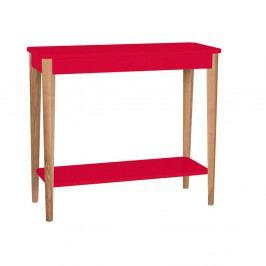 Červený konzolový stolík Ragaba Ashme, šírka 85 cm