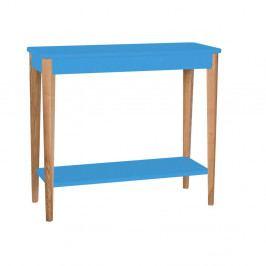 Modrý konzolový stolík Ragaba Ashme, šírka 85 cm
