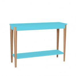 Tyrkysový konzolový stolík Ragaba Ashme, šírka 105 cm